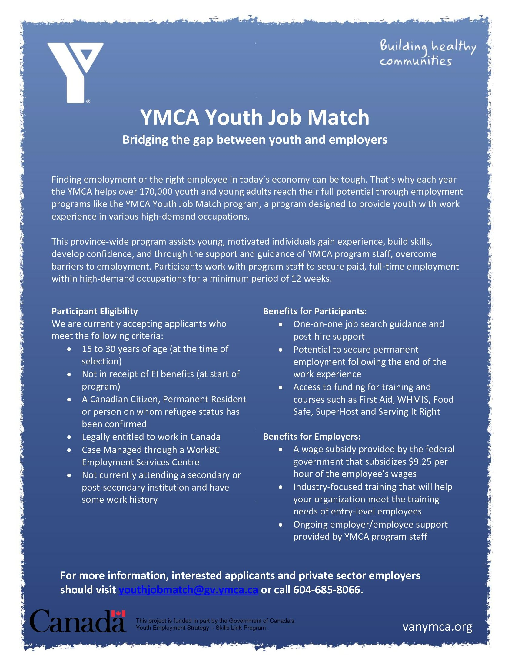 Know Any Youth 15 To 30 Struggling To Find Stable Employment