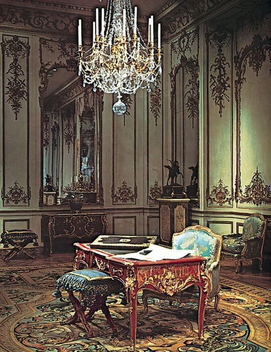 Baroque rococo decor rococo design of the louis xv - French interior design companies ...