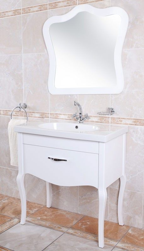 Groovy White Angelique Cabinet Mirror Ctm Stylish Home Wall Home Interior And Landscaping Pimpapssignezvosmurscom