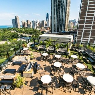 Chicago Rooftop Bars Hotel Lincoln Hotel Lincoln Chicago