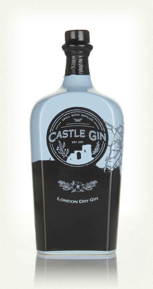 Castle Gin Botellas De Licor Gin Y Tragos