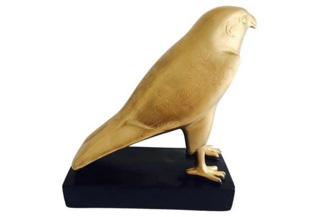 Egyptian Falcon Sculpture