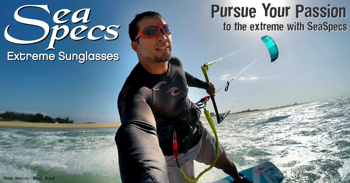 Extreme Passion Extreme Fun Extreme Protection Seaspecs The Original Surf Sunglasses Make Great Holida Kite Surfing Surfing Floating Sunglasses
