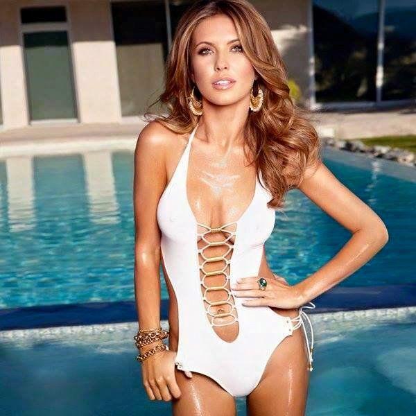 Audrina patridge gold bikini