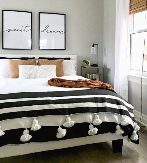 Above Crib Art Set Of 2 Prints Minimalist Poster Above Bed Etsy Tufted Upholstered Bed Upholstered Beds Bedroom Decor