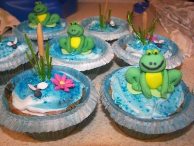 Frog birthday By deks on CakeCentral.com
