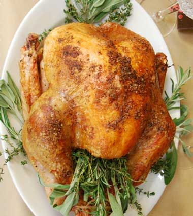 Thanksgiving Smoked Turkey On The Grill Recipe!