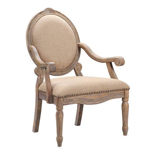 Wood Arm Chair, Accent Chairs, Chair