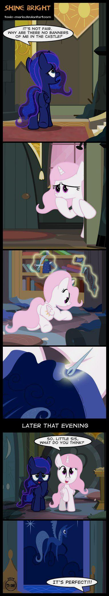 Shine bright by toxic mario on deviantart my little pony - Sparkle and shine cartoon ...