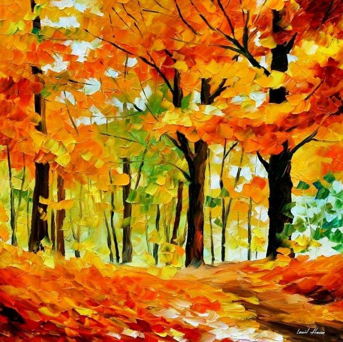 Лет, открытка на тему осень нарисовать