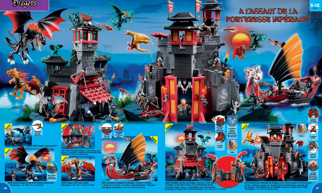 le journal de feanor catalogue fran ais 2014 playmobil. Black Bedroom Furniture Sets. Home Design Ideas