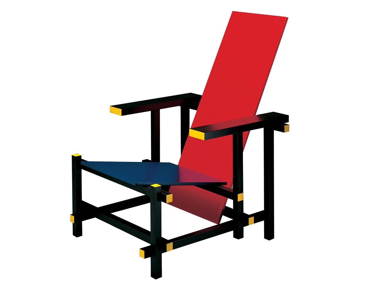 Rood Blauwe Stoel : Gerrit rietveld rood blauwe stoel  vakdidactiek