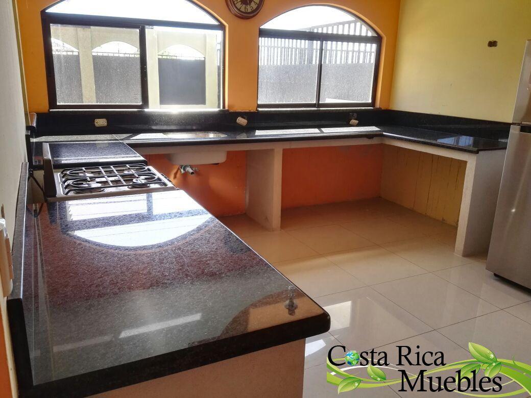Moderno Muebles De Cocina Con Sobres De Color Gris Negro Molde ...