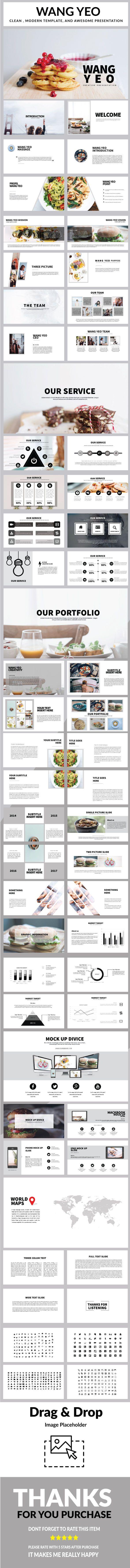 wang yeo multipurpose powerpoint | presentation templates, Powerpoint templates