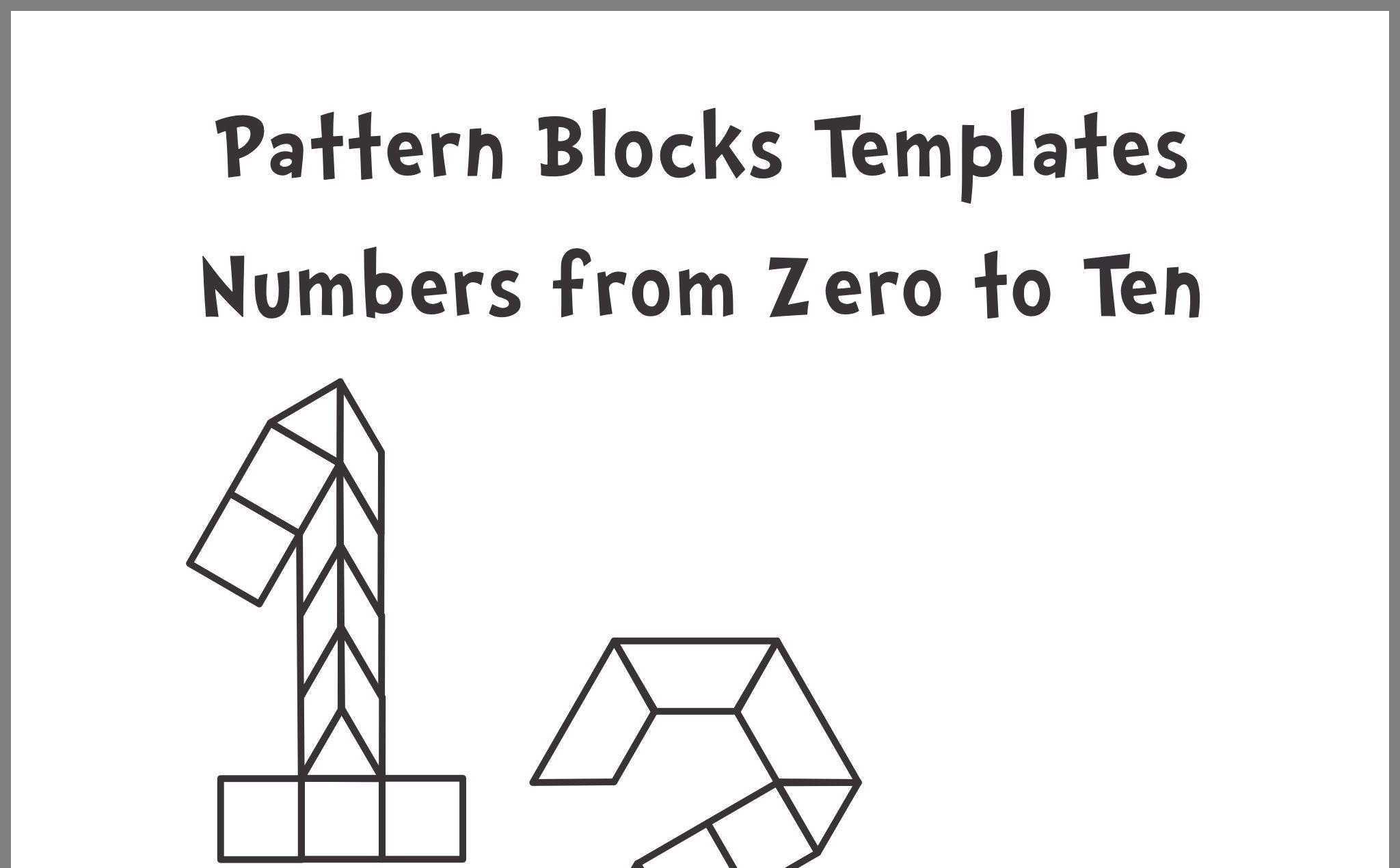 Pattern Block Templates Image By Jad Jad On Jad