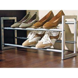 Porte Chaussures Extensible Pratik Castorama Porte Chaussures Rangement Chaussures Meuble Chaussure