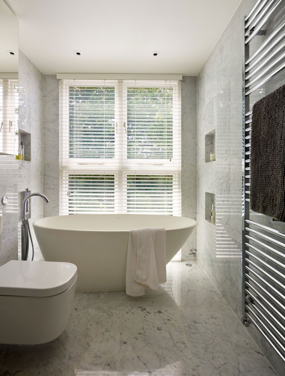 Beautify Houses With Marble Bathroom Design Ideas | Bathrooms ...