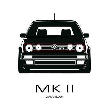 Vw Gti Design Volkswagen Golf Mk2 Golf Mk2 Volkswagen Golf Mk1