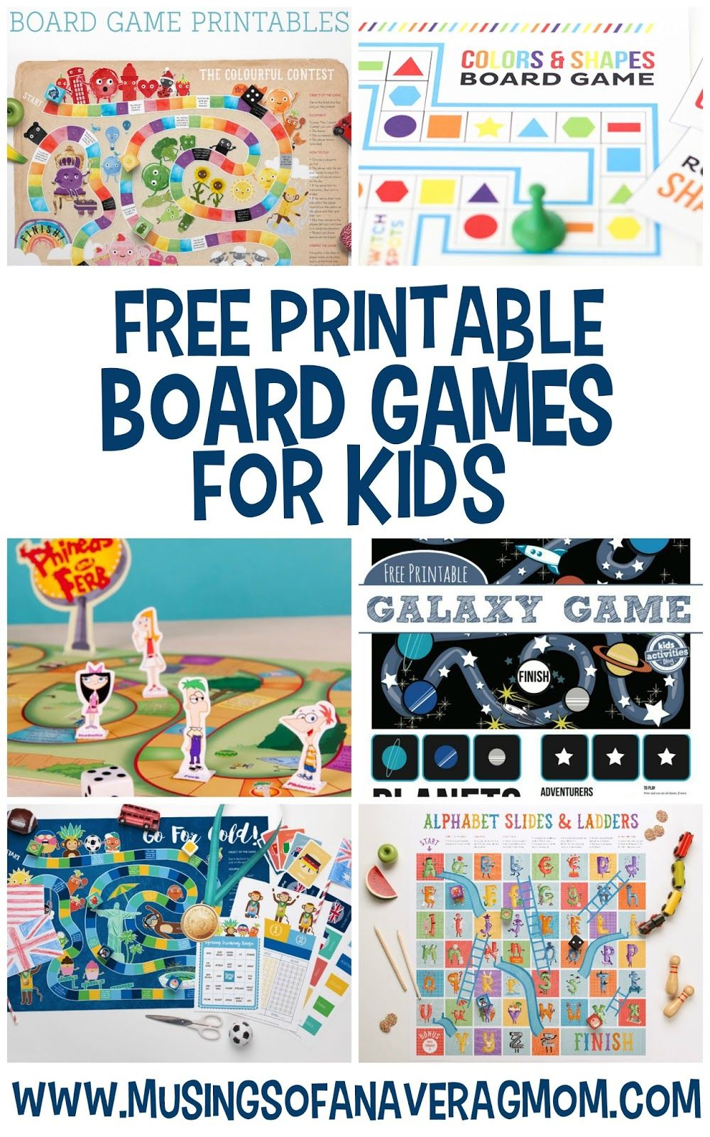 Free printable board games Printable board games