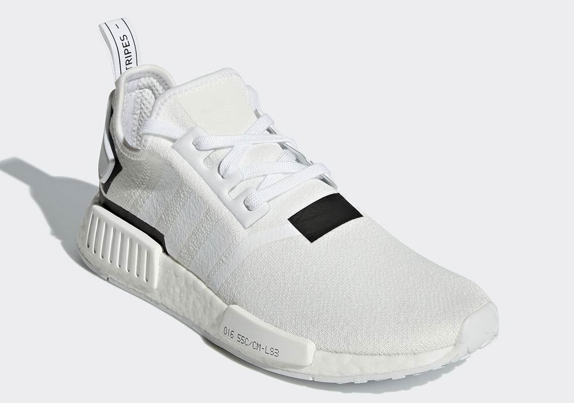 cb5997a14b3 The adidas NMD R1 Colorblock Pack Adds A Clean White And Black ...
