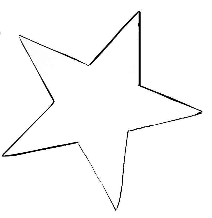 Make Some Felt Ornaments Free Patterns Star Template Star Coloring Pages Star Template Printable