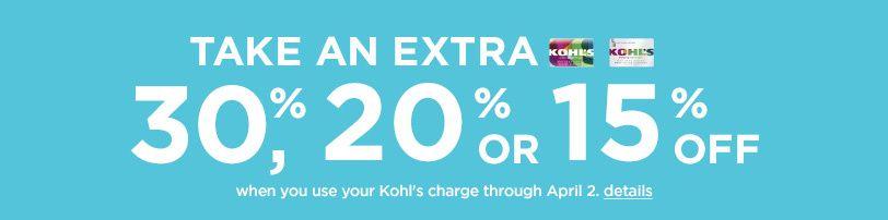 Saving 4 A Sunny Day: Save At Kohl's