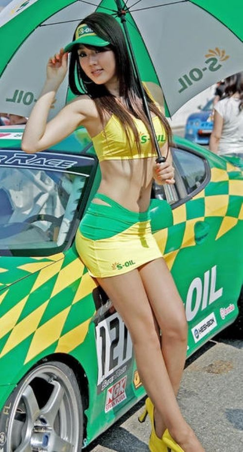 models Asian car