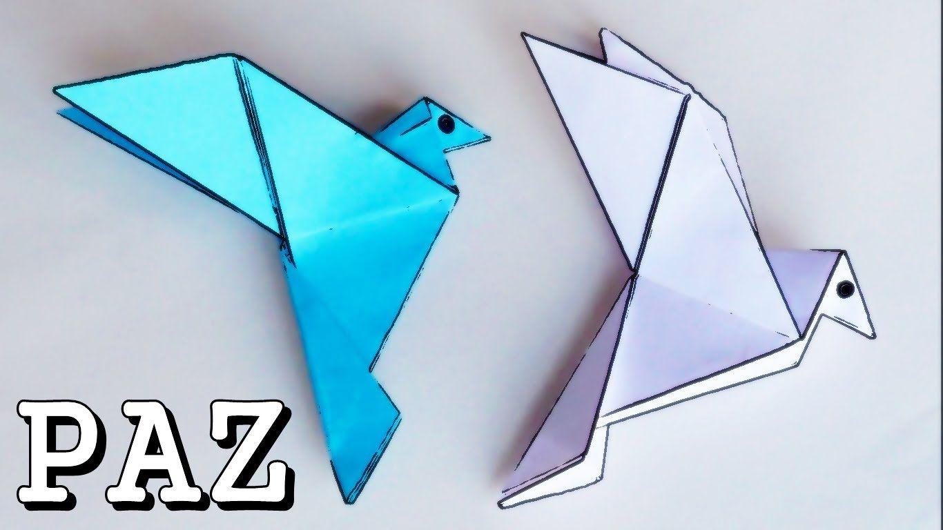 Paloma de la Paz - Origami * -*   *+ Origami ® Sweet Stuff ... - photo#23