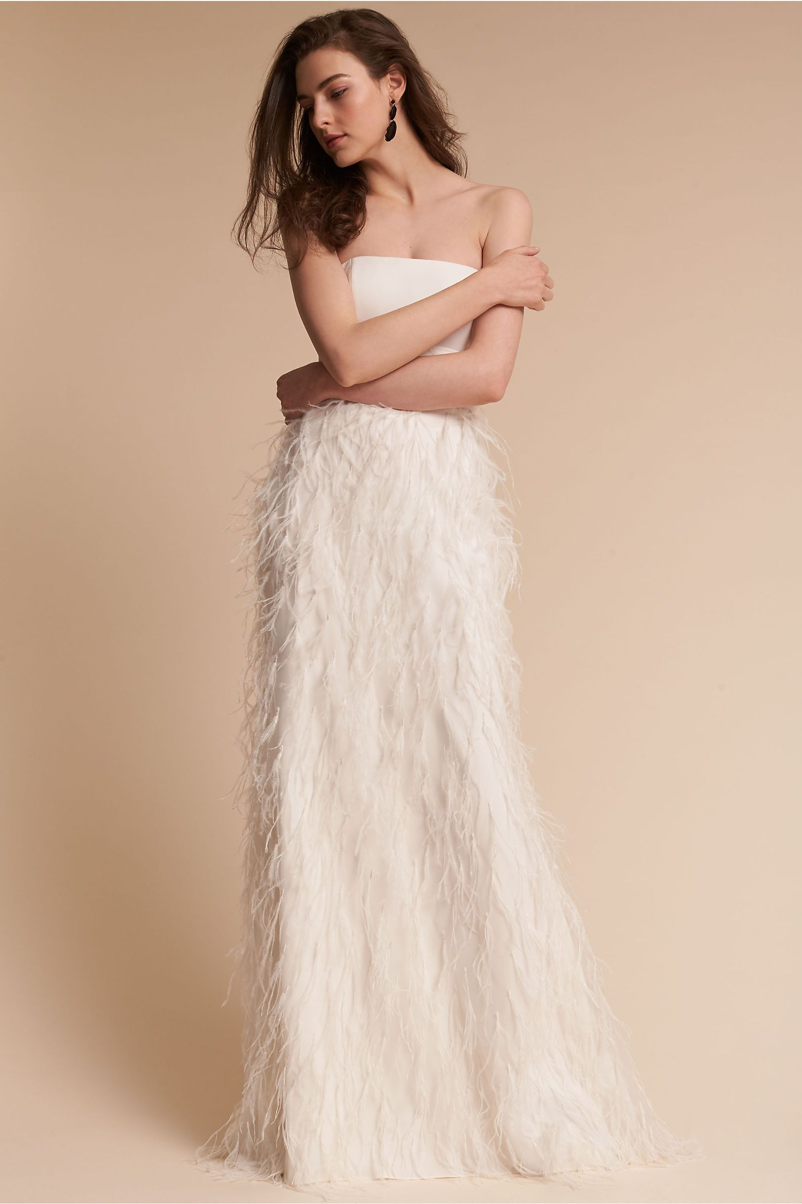 20d679ba8a BHLDN s Watters Whim Gown in Ivory