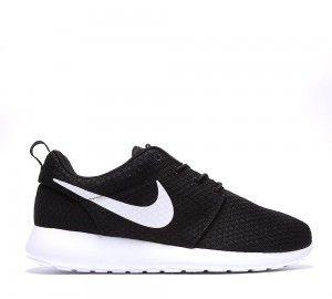 Hombre Nike Roshe Run Breeze - negras & blancas Zapatillas ...