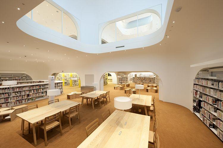 豁ヲ阡オ驥弱ヵ繧壹3繧 繧ケ Public Library Design Architect Library Design