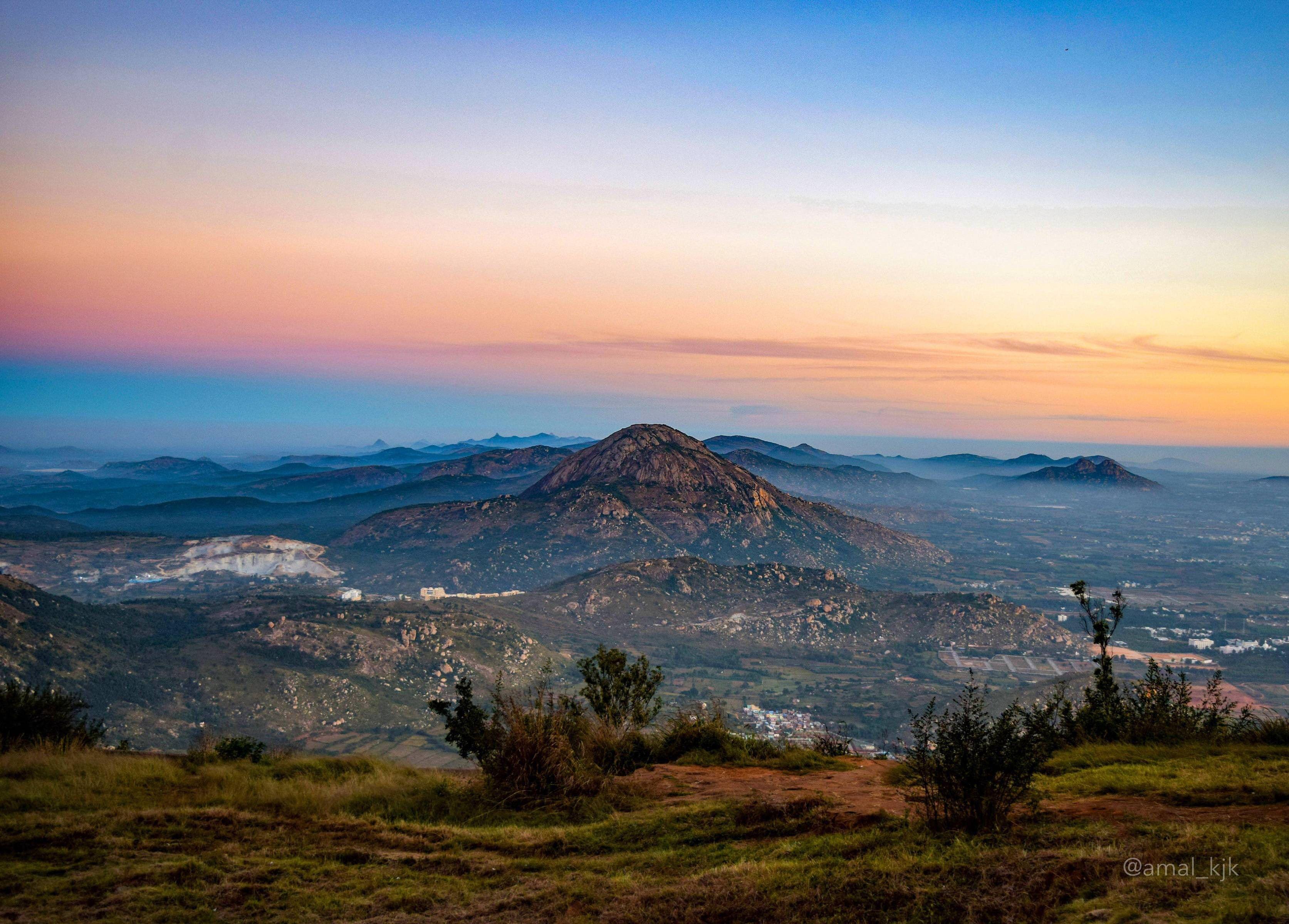 Nandi Hills, Karnataka India