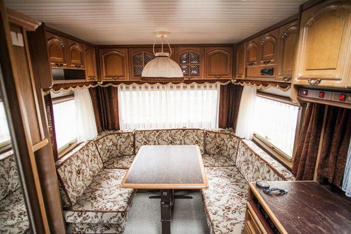 Wohnwagen renovieren. Im Juli haben wir einen 30 Jahre ...