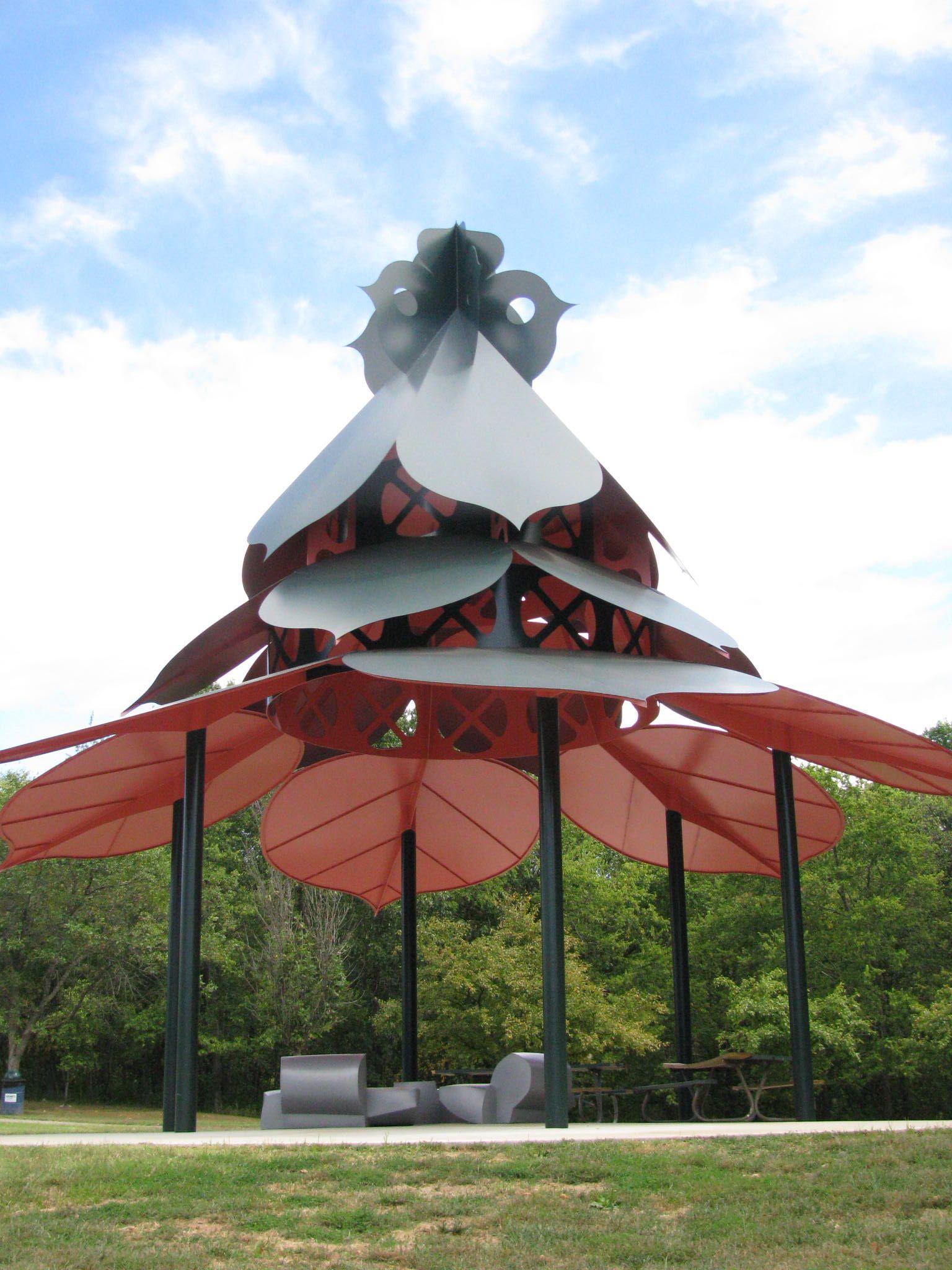 Pavilion Laumeier Sculpture Park St. Louis
