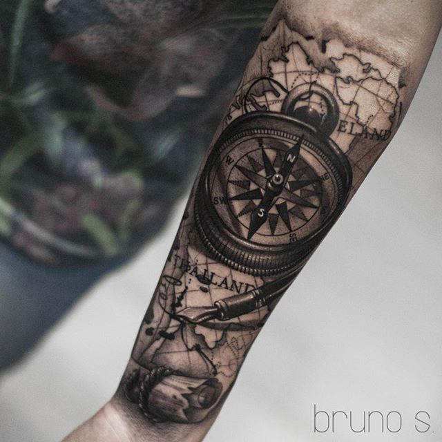 Compass I Did On My Buddy Zakkarin From Thailand Hope You Like