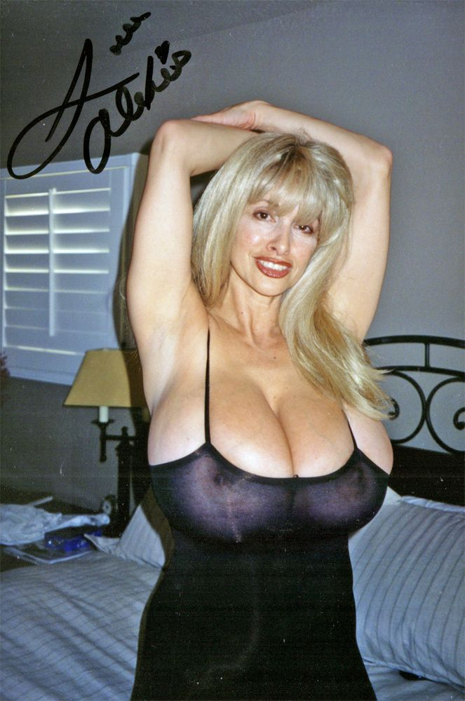 Mature Busty Woman Having Fun At Home