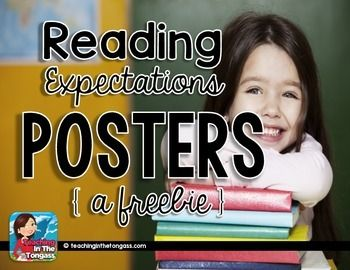 The key to successful engagement for any reading workshop is setting students up with explicit directions on your expectations, so I created a set of anchor charts/posters to help make that time more manageable!   You might also be interested in:Reading Response Journals BUNDLE