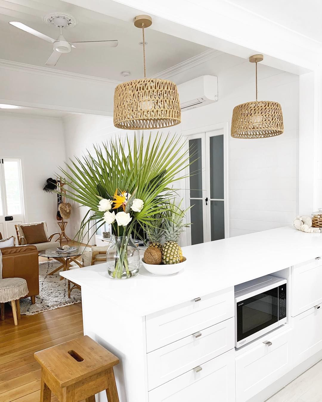 clean white kitchen for now kitchen whitekitchen kitchenreno kitc boho on boho chic interior design kitchen id=62109