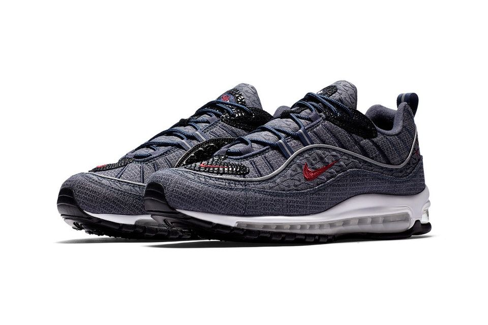 new concept aa1f5 20f8b ... Nike Adorns the Air Max 98 in Bold ...