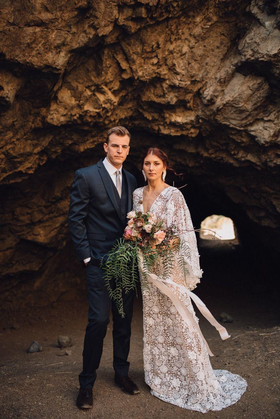 Romantic hollywood bohemian inspiration at the bronson canyon caves