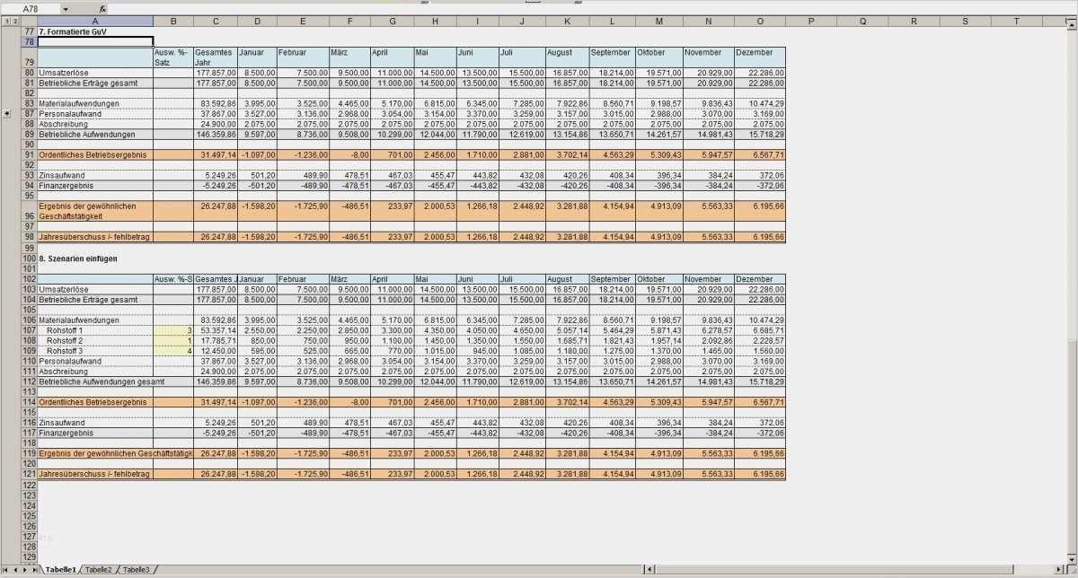 50 Angenehm Gewinn Verlustrechnung Excel Vorlage Ideen In 2020 Excel Vorlage Vorlagen Businessplan Vorlage