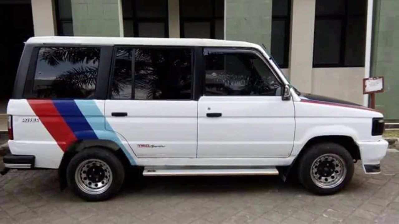 Modifikasi Mobil Kijang Super Warna Putih Modifikasi Mobil Mobil Kijang