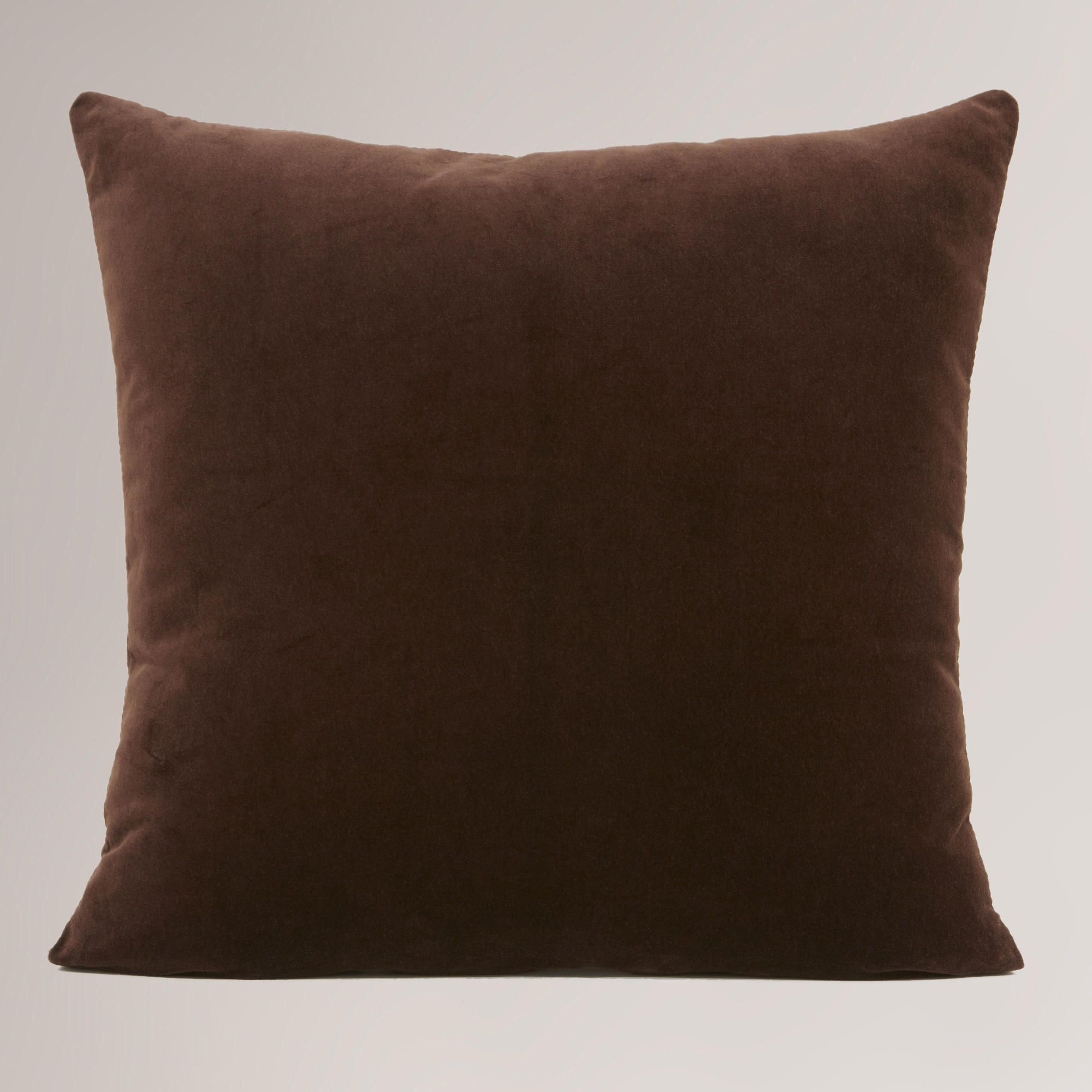 Brown Pillow Throw Pillows Velvet