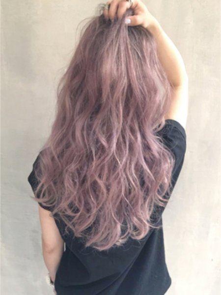 女子力アップ出来て可愛くなれる髪色といえばピンク系ヘアカラーダーク