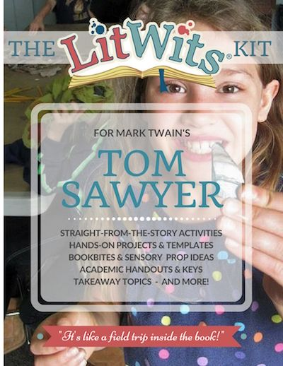 Make this great book real in hands-on, multisensory ways that teach great things! As a LitWits member for just $9/month, you could choose this as one of your FREE monthly LitWits Kits. Hands-on, multisensory activities, academic handouts, and lots more -- all in one place!