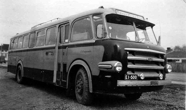 Vanaja Vanajan Autotehdas 1943 1968 Finland New Bus Finland Bus