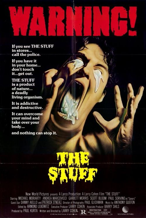 The Stuff Movie Poster 19854 Jpg 500 743 Horror Movie Posters