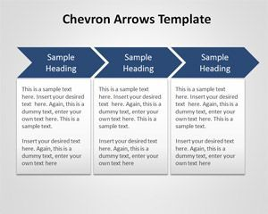 free chevron arrows template for powerpoint is a free chevron, Presentation templates