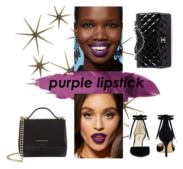 """""""Untitled #83"""" by foxtheimer on Polyvore featuring beauty, Global Views, Givenchy, Maybelline, Chanel and Nine West"""