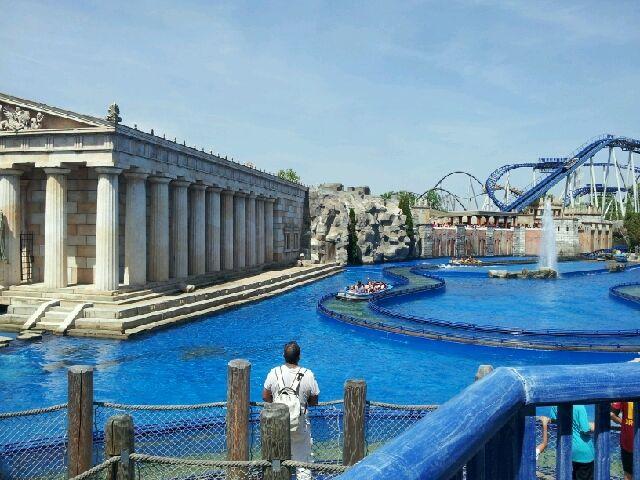 Europapark Rust - die griechische Ecke, Juni 2014